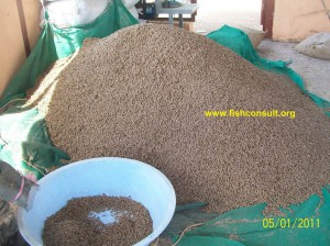 Sudan (produced catfish feed)