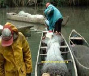 Artisanal fishery in Lakes (Benin) 01