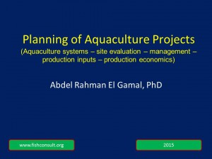 Planning of aquaculture projects 2015 (for jpg cover)
