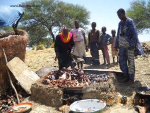 Fish smoking in Kiln in Chad (02)
